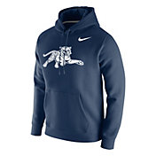 Nike Men's Jackson State Tigers Navy Club Fleece Pullover Hoodie