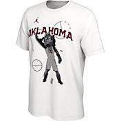 Jordan Men's Oklahoma Sooners Bench White T-Shirt
