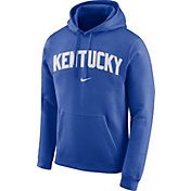 Nike Men's Kentucky Wildcats Blue Club Arch Pullover Fleece Hoodie