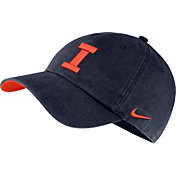 Nike Men's Illinois Fighting Illini Blue Washed Heritage86 Hat