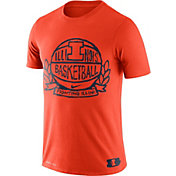 Nike Men's Illinois Fighting Illini Dry Crest Basketball T-Shirt