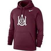 Nike Men's Alabama A&M Bulldogs Maroon Club Pullover Fleece Hoodie