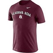 Nike Men's Alabama A&M Bulldogs Maroon Dri-FIT Legend T-Shirt
