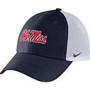 Nike Men's Ole Miss Rebels Blue Heritage86 Logo Hat