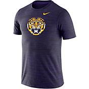 Nike Men's LSU Tigers Purple Velocity Performance T-Shirt