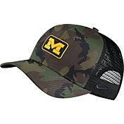 Nike Men's Michigan Wolverines Camo Classic99 Adjustable Hat