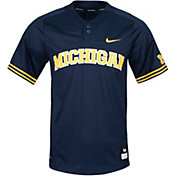 Nike Men's Michigan Wolverines Blue Dri-FIT Replica Baseball Jersey