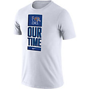 Nike Men's Memphis Tigers 'Our Time' Bench White T-Shirt