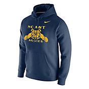 Nike Men's North Carolina A&T Aggies Navy Club Fleece Pullover Hoodie