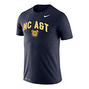 Nike Youth North Carolina A&T Aggies Navy Legend Logo T-Shirt
