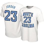 Jordan Men's Michael Jordan North Carolina Tar Heels #23 Basketball Jersey White T-Shirt