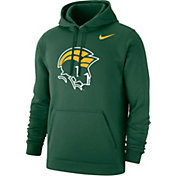 Nike Men's Norfolk State Spartans Green Club Pullover Fleece Hoodie