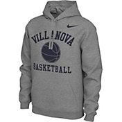 Nike Men's Villanova Wildcats Grey Pullover Basketball Hoodie