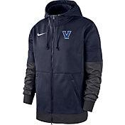 Nike Men's Villanova Wildcats Navy Therma-FIT Full-Zip Hoodie
