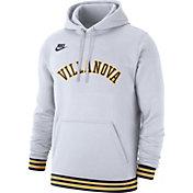 Nike Men's Villanova Wildcats White Club College Pullover Fleece Hoodie