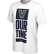 Nike Men's Villanova Wildcats 'Our Time' Bench White T-Shirt