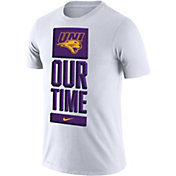 Nike Men's Northern Iowa Panthers  'Our Time' Bench White T-Shirt