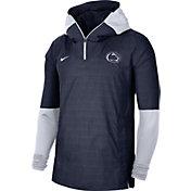 Nike Men's Penn State Nittany Lions Navy Lightweight Football Sideline Player's Jacket