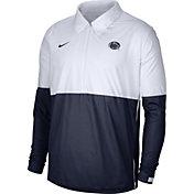 Nike Men's Penn State Nittany Lions White/Blue Lightweight Football Coach's Jacket