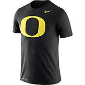 Nike Men's Oregon Ducks Logo Dry Legend Black T-Shirt