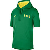 Nike Men's Oregon Ducks Green Showout Short Sleeve Hoodie