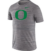 Nike Men's Oregon Ducks Grey Velocity Performance T-Shirt
