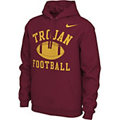Nike Men's USC Trojans Cardinal Pullover Football Hoodie
