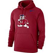 Nike Men's South Carolina State Bulldogs Garnet Club Pullover Fleece Hoodie