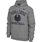 Nike Men's Syracuse Orange Grey Pullover Basketball Hoodie