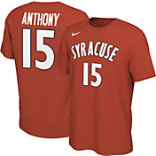 Nike Men's Carmelo Anthony Syracuse Orange #15 Orange Basketball Jersey T-Shirt