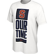 Nike Men's Syracuse Orange 'Our Time' Bench White T-Shirt