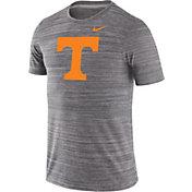 Nike Men's Tennessee Volunteers Grey Velocity Performance T-Shirt