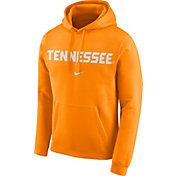 Nike Men's Tennessee Volunteers Tennessee Orange Club Arch Pullover Fleece Hoodie
