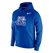 Nike Men's Tennessee State Tigers Royal Club Fleece Pullover Hoodie