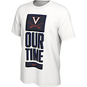 Nike Men's Virginia Cavaliers 'Our Time' Bench White T-Shirt