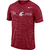 Nike Men's Washington State Cougars Crimson Velocity 'Go Cougs' Football T-Shirt