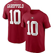 Nike Men's San Francisco 49ers Legend Jimmy Garoppolo #10 Red T-Shirt