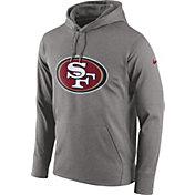Nike Men's San Francisco 49ers Logo Essential Grey Hoodie