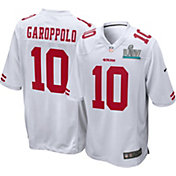 Nike Men's Super Bowl LIV Patch San Francisco 49ers Jimmy Garoppolo #10 Away Game Jersey