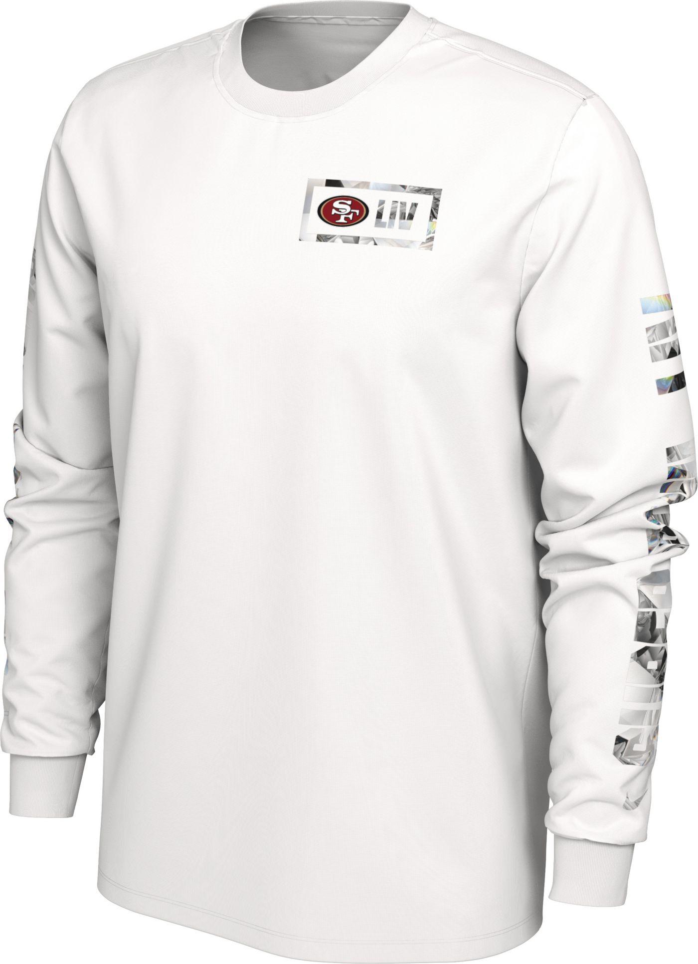 Nike Men's Super Bowl LIV San Francisco 49ers Media Long Sleeve Shirt