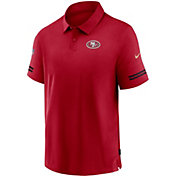 Nike Men's San Francisco 49ers Coaches Sideline Red Polo