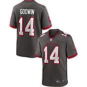 Nike Men's Tampa Bay Buccaneers Chris Godwin #14 Pewter Game Jersey