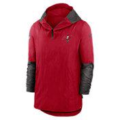 Nike Men's Tampa Bay Buccaneers Sideline Coach White/Red Jacket