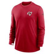 Nike Men's Tampa Bay Buccaneers Sideline Dri-Fit Long Sleeve T-Shirt