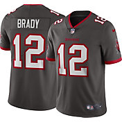 Nike Men's Tampa Bay Buccaneers Tom Brady #12 Pewter Limited Jersey
