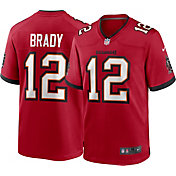 Nike Men's Tampa Bay Buccaneers Tom Brady #12 Home Red Game Jersey