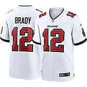 Nike Men's Tampa Bay Buccaneers Tom Brady #12 Away White Game Jersey