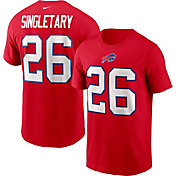 Nike Men's Buffalo Bills Devin Singletary #26 Legend Red T-Shirt
