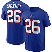 Nike Men's Buffalo Bills Legend Devin Singletary #26 Royal Blue T-Shirt