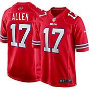 Nike Men's Buffalo Bills Josh Allen #17 Red Game Jersey